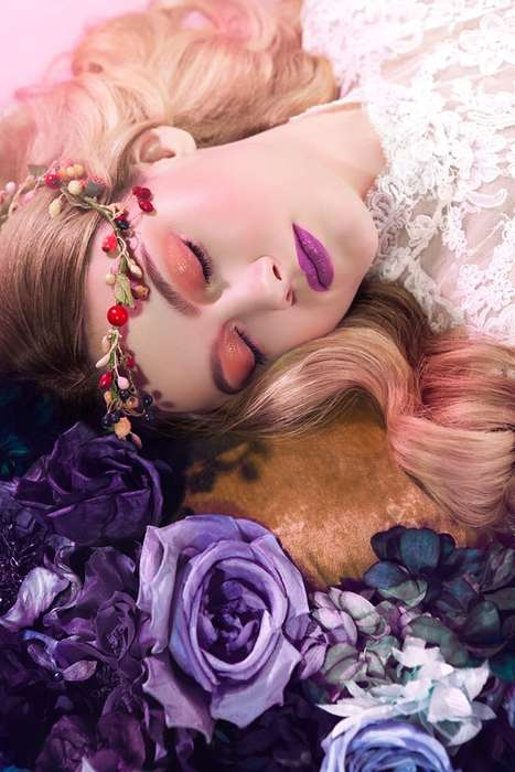 inspired by sleeping beauty