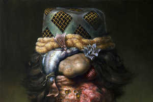 Christian Rex van Minnen Depicts Appalling Skin Issues