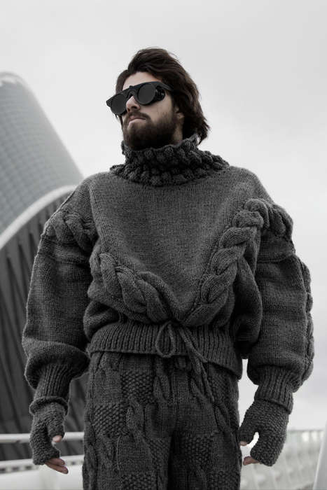 Unconventional Knitwear Editorials - The Other Side of Heaven F***** Young! Exclusive is Eccentric