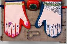 The Glove & Cake Oven Mitts are for Bakers Who Love Cake