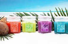 Vacation-Inspired Candle Lines