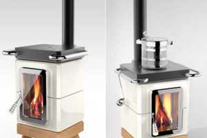 Adriano Design Thermostack is an Eco-Friendly Heater and Stove
