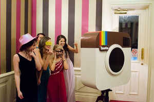 This DIY Photo Booth is an Instagram-Inspired Photo Delight