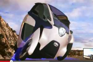 The New Toyota iRoad is The Car of The Future