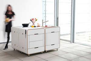This A la carte Kitchen Carries Cookery in Compact Modules