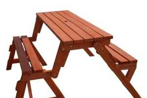 This Transforming Outdoor Table Features Two Products in One