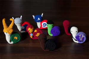 The Swirly Snail Amigurumi Plushie Transform the Classic Characters