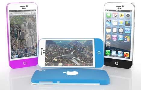 Anticipatory Concept Smartphones - Valentin Gallard's iPhone 6 Marries Elements of Apple Products (TrendHunter.com)