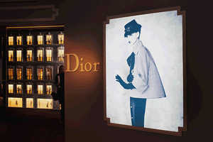 The Dior at Harrod's London Opens with a Historical Angle