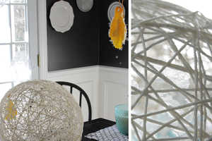 This DIY Project Utilizes Ordinary Pieces of Yarn to Create Fixtures