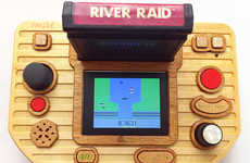 Retro Timber Gaming Systems  - The Atari 2600 VCS System is for the Avid Vintage Gamer