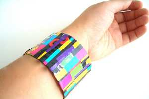 Turn a Bottle into a Quirky Bracelet Using Only Recyclables