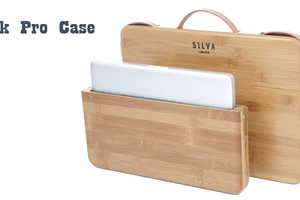 The Grass Wood Company's Stylish Laptop Case is Minimalist