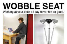 Orbitally Rotating Seats - Work Comfortably with This Alternative Seating Option