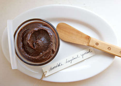Homemade Coco-Hazelnut Spreads - This Recipe for Homemade Nutella is Decadently Delectable