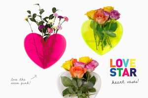 These Lovestar Vases are Sweet Heart Design Decoration Elements