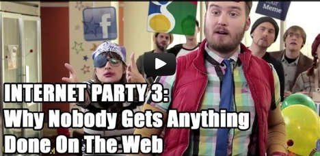 Personified Social Platform Videos - The Social Media Parody Video by Cracked is Accurately Depicted