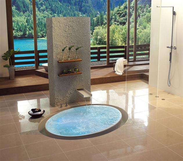 Flooded Bathing Concepts