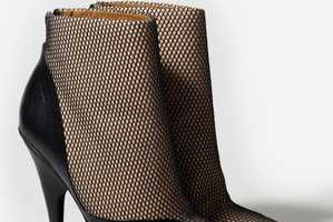 3.1 Phillip Lim Debuts a Gorgeous Illusion Mesh and Leather Ankle Boot