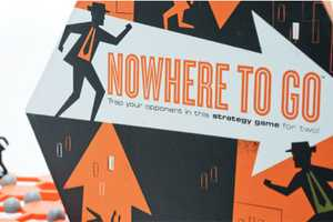 Nowhere To Go Packaging Brings a Sweeping Glance to a Standstill