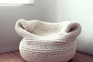 The Bdoja Chair by Amaya Guiterrez Offers a Comfortable Embrace