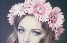 62 Dainty Floral Headpieces