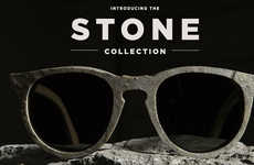 Stone-Carved Sunglasses