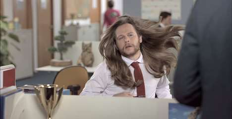 Luxurious Men's Shampoo Ads - This Dove Ad Shows Why Men and Women Use Different Shampoos