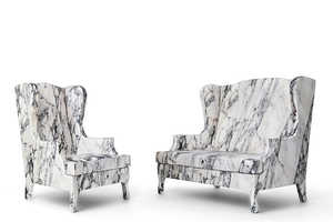 This Archaic Marble Chair Isn't as Uncomfortable as It