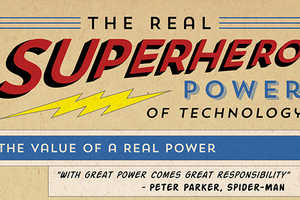 This Chart from Jenny Beswick Shows Real-Life Superhero Powers