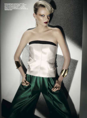 Posh Poison Ivy Photoshoots - The Vogue Turkey Goddess Editorial is Villain-Esque