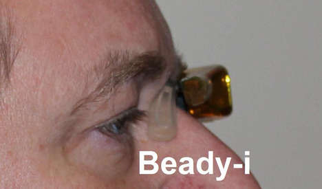 DIY Tech Smart Glasses - The DIY Beady-i Lets You Build Your Own Imitation Google Glass for Cheap