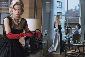 The Vogue US April 2013 Issue Channels a Suspenseful Classic