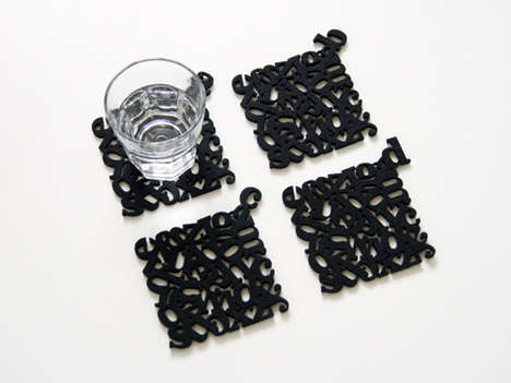 Number Placemats and Letter Coasters