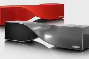 The RichardSolo Twist Bluetooth Speakers Provide Hands-Free Audio