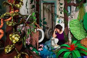 Magdalena Bors' The Seventh Day Displays Cramped Spaces