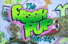 Pet Adoption Sitcom Parodies - The Fresh Pup of Bel Air is a Fun Way to Increase Adoption Awareness