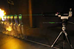 Worldscott Shows What Happens When a Powerful Laser Meets Alcohol