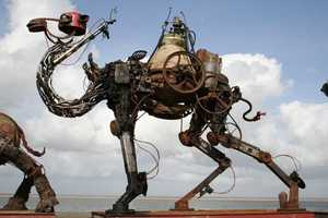 The Scrap Metal Animals by Christian Champin are Recycled Brilliance