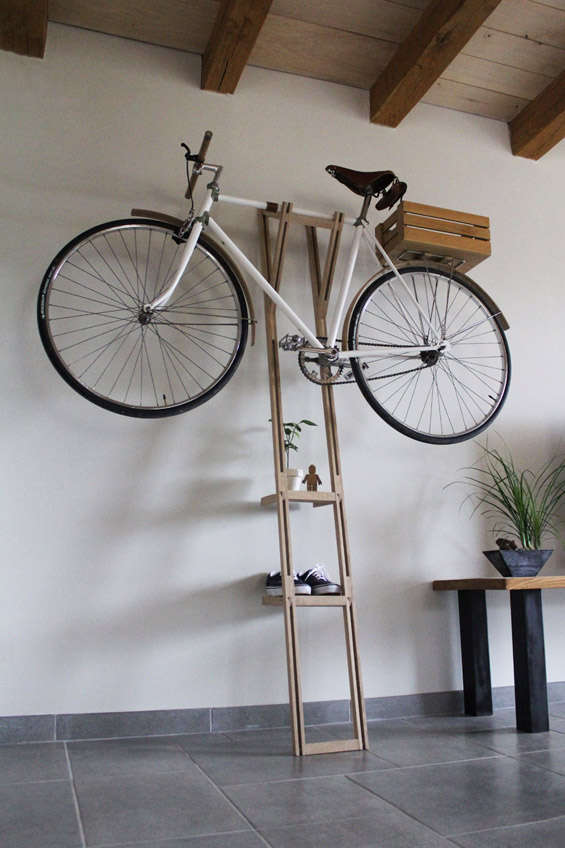 Shelving Bike Racks