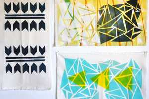 Create Beautiful Fabric Designs with DIY Textile Printing
