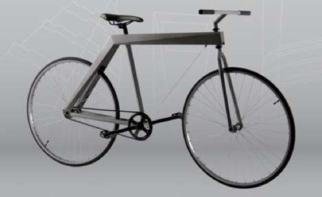 Sharply Framed Pushbikes - The Edge Bicycle