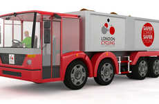 Transparent-Cabbed Trucks - The Safer Urban Lorry Would Reduce the Incidence of Cyclist Injuries