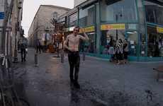 Reverse Walking Videos