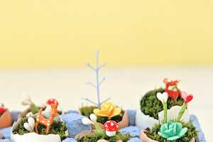 These Mini Egg Landscapes are the Perfect Easter Decorations