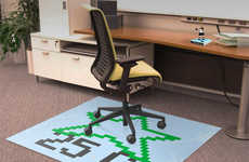 Gamer Icon Chair Carpets