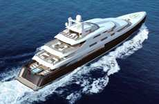 Outstandingly Engineered Yachts - Fraser Yachts is Producing an Incredible 88-Meter Luxury Vessel