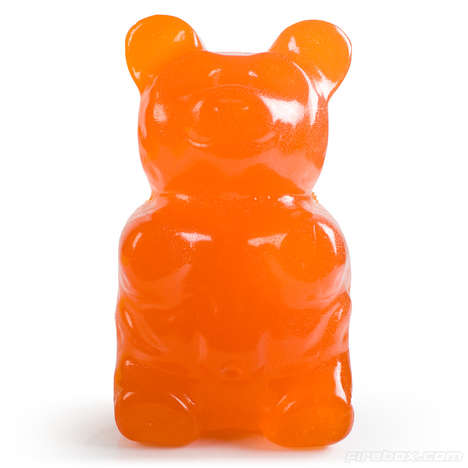 6,000 Calorie Candies - These Giant Gummy Candy Characters Are More Than You Can Chew