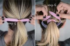 DIY Rawhide Hairbands