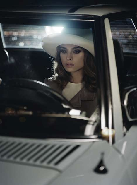 Hot Pursuit Editorials - The Vogue Italia Vincent Peters Photoshoot is Highly Mysterious